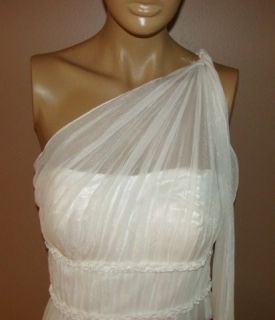 JS COLLECTIONS IVORY GODDESS WEDDING ELEGANT EVENING GOWN DRESS 4 NYCTO 11COK