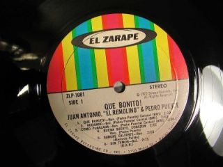 Que Bonito by Juan Antonio El Remolino Y Pedro Puente VG El Zarape Signed