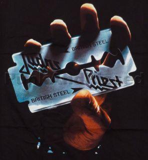 Judas Priest British Steel t shirt Official FAST SHIP