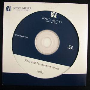 Joyce Meyer Fear and Tormenting Spirits Single CD