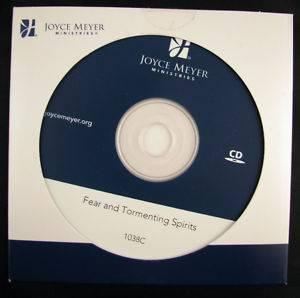 Joyce Meyer Fear and Tormenting Spirits Single CD