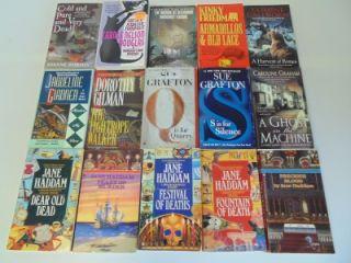 Lot of 86 Mystery Thriller Suspense Paperback Books Emma Lathen Josephine Tey