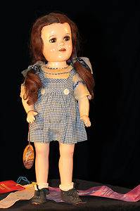 "144 16"" Judy Garland Sleepy Eyes Wizard of oz Dorothy Doll Ideal Toy Co USA"