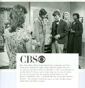 Judy Norton Taylor Michael Learned The Waltons Cast Original 1978 CBS TV Photo