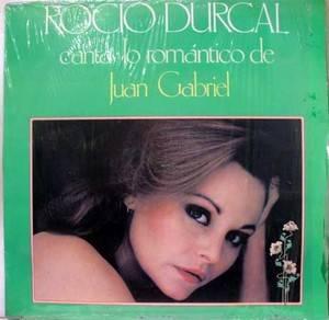 Juan Gabriel Rocio Durcal Canta Lo Romantica LP VG La 468 Vinyl 1982 Record