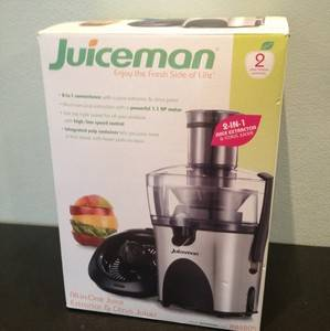 Juiceman Juice Extractor and Citrus Juicer JM480S