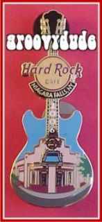5 Pins Lot Set Guitar Niagara Falls USA Hard Rock Cafe Lapel Hat Xmas Jukebox