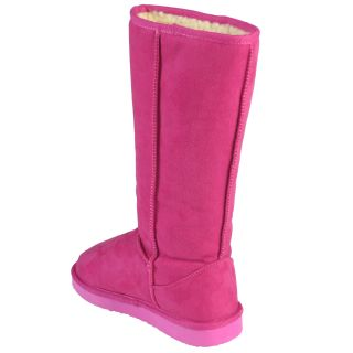 Journee Collection Womens Microsuede Mid Calf Boots