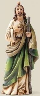 St Jude Thaddaeus Catholic Statue Devotional Figurine