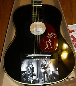 The Civil Wars Joy Williams John White Signed Acoustic Guitar w Photo GFA COA