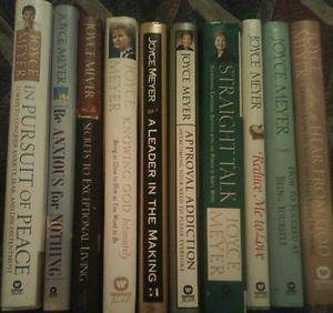 Joyce Meyer Books Set of 10 MAKE AN OFFER