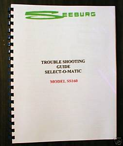 Seeburg SS160 Jukebox Trouble Shooting Guide