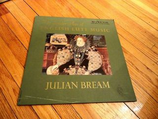 LP Julian Bream Golden Age of English Lute Music RCA