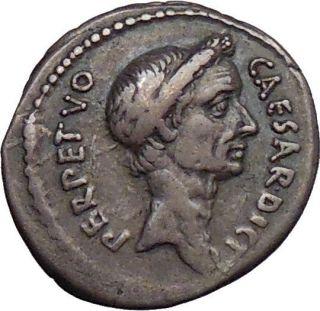 Julius Caesar Rome February March 15 B C 44 L Aemilius Buca Silver
