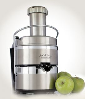 JACK LALANNE POWER JUICER PRO PJP STAINLESS STEEL ELECTRIC JUICING