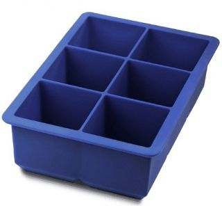 Large Silicone Ice Cube Tray Freeze Juices Fruits Blue QUICK SHIP