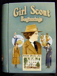 Girl Scout Beginnings Book Tin Juliette Gordon Low