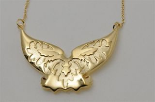 Jules Smith BFF Wings Necklace Gold Gunmetal