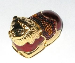 Lauder LEGENDARY LION 2004 Judith Leiber Solid Perfume Compact Leiber