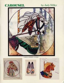 Carousel Stained Glass Pattern Book Judy Miller Tools