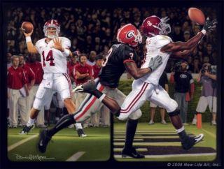 Alabama Football Daniel Moore Blackout Julio Print