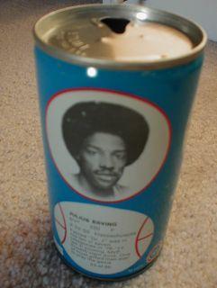 79 Julius ERVING DR J NBA Basketball RC Cola can 23 Royal Crown R C