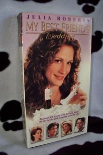 My Best Friends Wedding Julia Roberts VHS Movie 043396827233