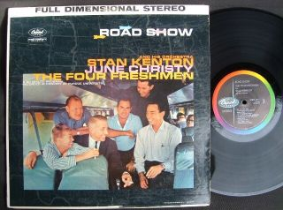 Stan Kenton June Christy Road Show Capitol Stereo VG