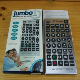 Remote jumbo universal manual emerson pdf