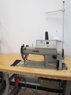 Juki Single Needle Automatic Industrial Sewing Machine Great Condition
