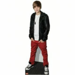 Justin Bieber Life Size Standup Poster
