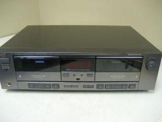 Vintage JVC TD W207 Dual Cassette Deck 536