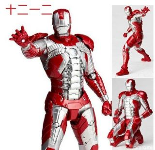 Kaiyodo Figure Revoltech Sci Fi No 041 Ironman II Iron man Mark V