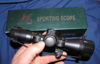 NcStar 4x30 Compact Scope with Mounting Rings