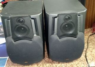 Speakers 2 JVC SP D402 Speakers Free Shipping