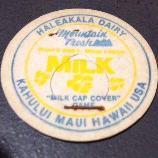 Mounain Fresh Milk Cap Cover Game POG Maui Hawaii Kahului