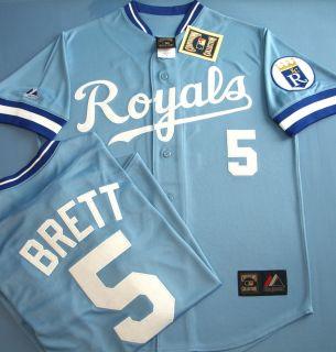 Kansas City Royals George Brett Cooperstown Jersey