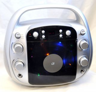 GPX J100S Portable CD G Home Karaoke Party Machine
