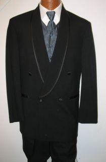 Mens Black Karl Lagerfeld Tuxedo Jacket Wedding