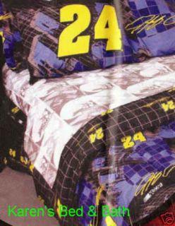 Jeff Gordon NASCAR 24 Full Bedding Bedskirt New