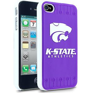 iPhone 4 4s KANSAS STATE WILDCATS Faceplate Protective Hard Case Cover