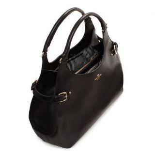 NWT KATE SPADE New York Vanston Dylan Black Leather Large Shoulder Bag