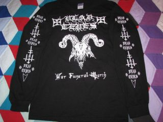 Vlad Tepes War Funeral March Longsleeve T Shirt Black Metal Burzum