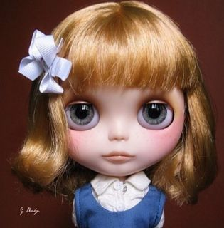 OOAK Custom Blythe Eye Chips Set C24 by ANA Karina
