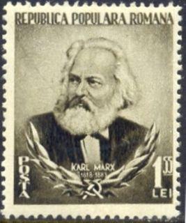 1953 Marx Karl Marx Romania MI 1428 MNH
