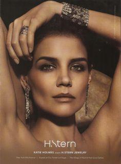 Katie Holmes H Stern Jewelry Advertisement 2012 Magazine Print Ad