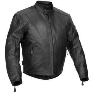 Leather Motorcycle Jacket 52 Kawasaki Harley Suzuki Goldwing