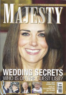 Majesty Magazine Kate Middleton Queen Zara Phillips
