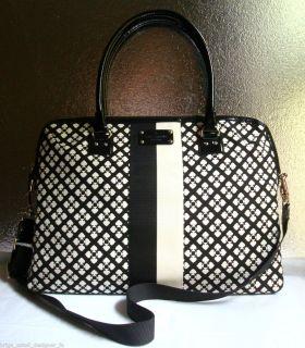 NWT Authentic Kate Spade Classic Spade Calista Laptop Case Bag Black
