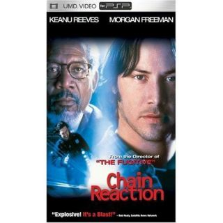 Chain Reaction New UMD Sony PSP Keanu Reeves Freeman 024543214878